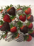 chocolate covered strawberries fresh local hand dipped delivered same day clovis fresno delivery