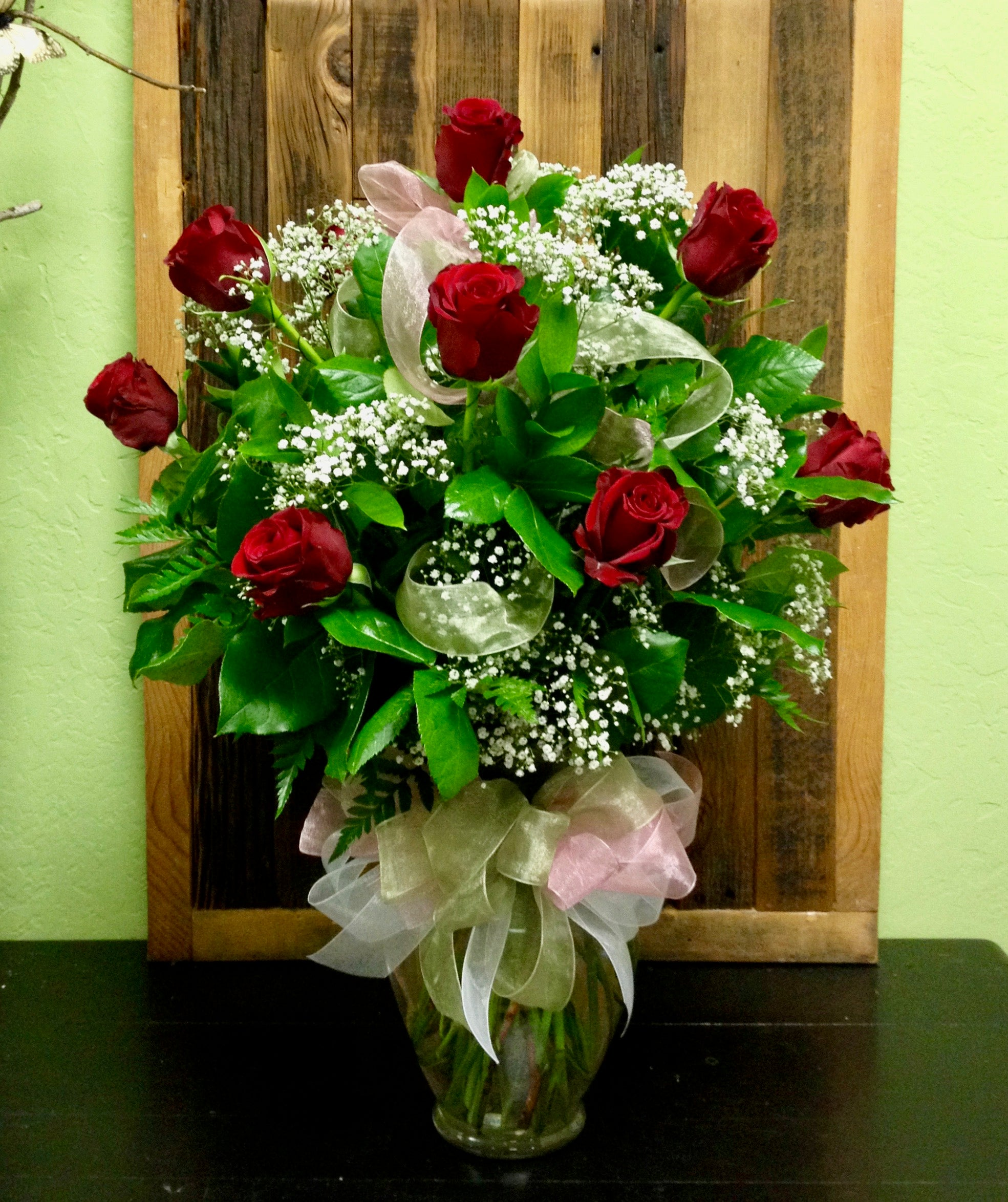 1 dozen long stem red roses clovis ca delivery local florist
