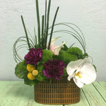 father's day gift ideas masculine flower arrangement modern design  clovis ca delivery