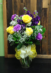 spring mix arrangement clovis florist mother's day delivery