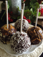 Chocolate Dipped Caramel Apple