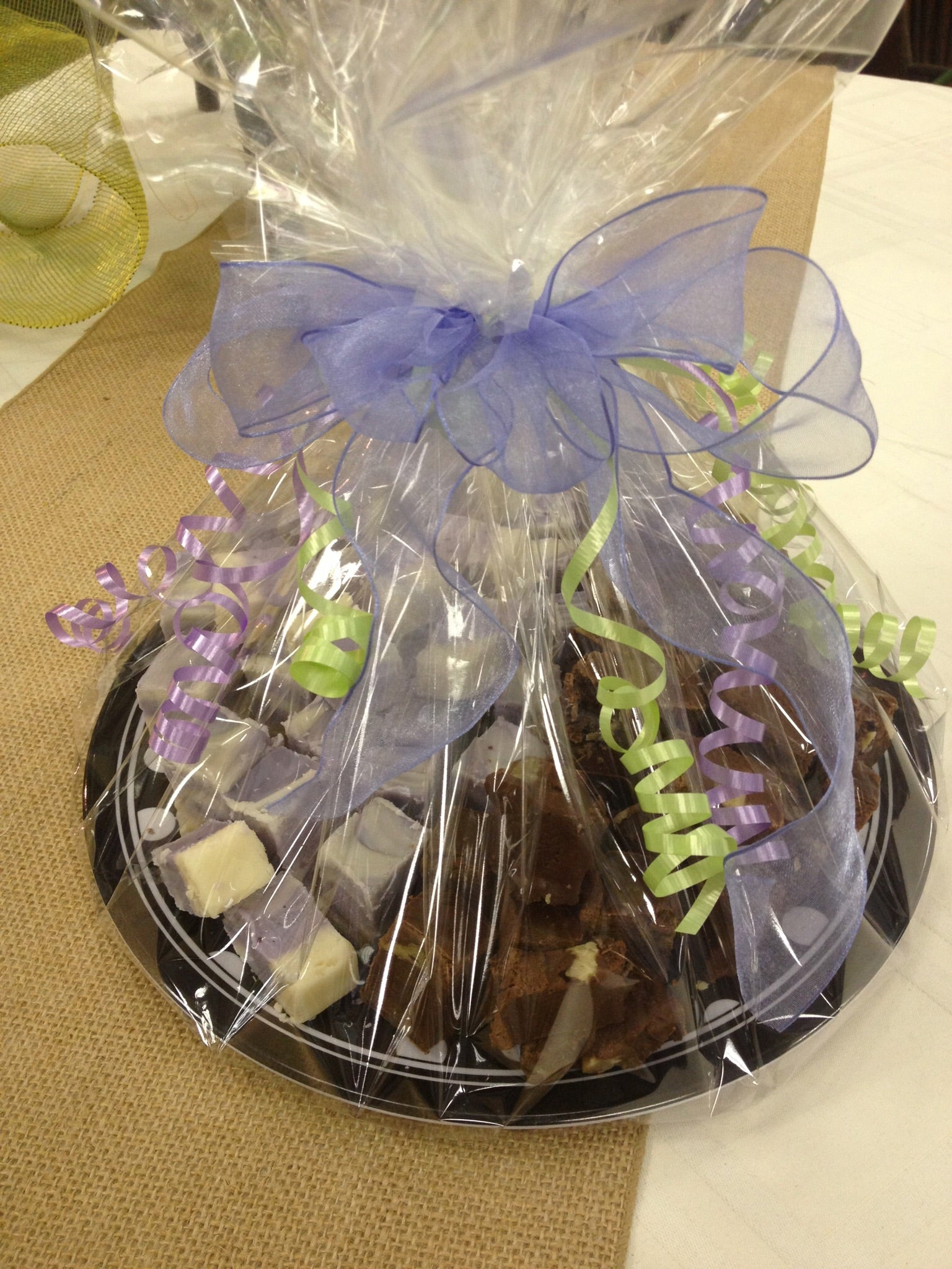 fudge party platter graduation fathers day clovis fresno delivery