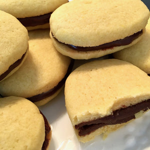 Fudge Sandwich Cookies