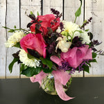 pink and purple spring flowers clovis florist mother's day delivery