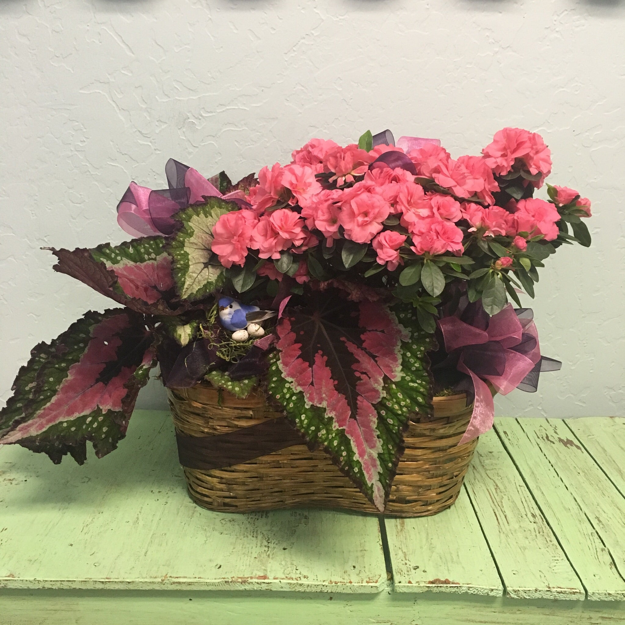 Double Garden Basket