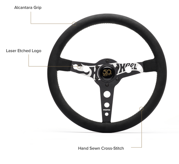 MOMO X Hot Wheels Limited Edition Steering Wheel
