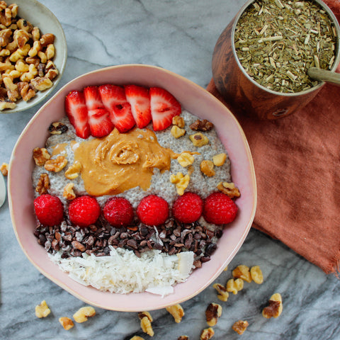 Yerba Mate Superfood Chia Pudding