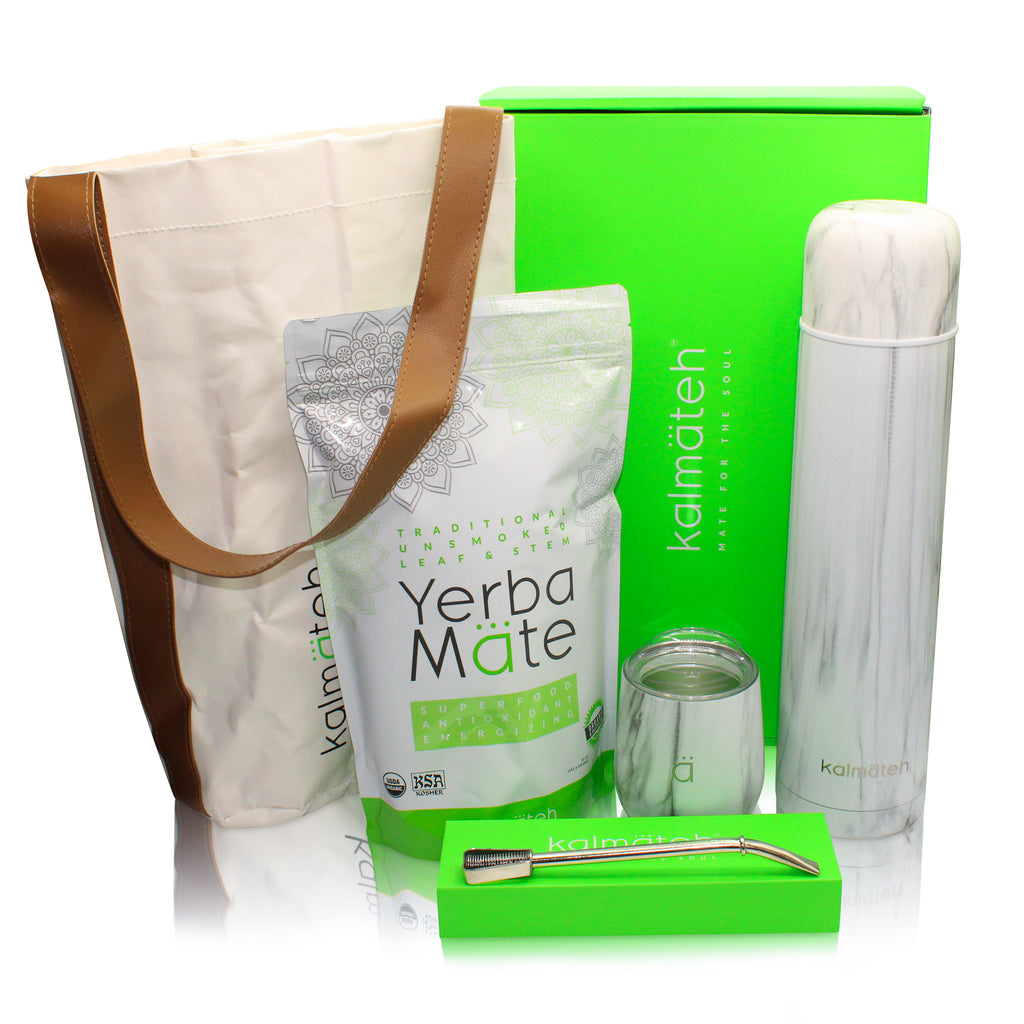 Yerba Mate Kit by Kalmateh - Marble