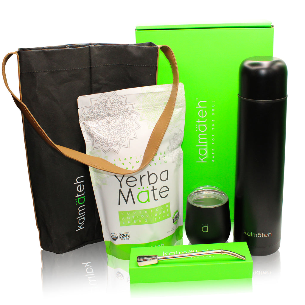 Yerba Mate Kit by Kalmateh - Matte Black