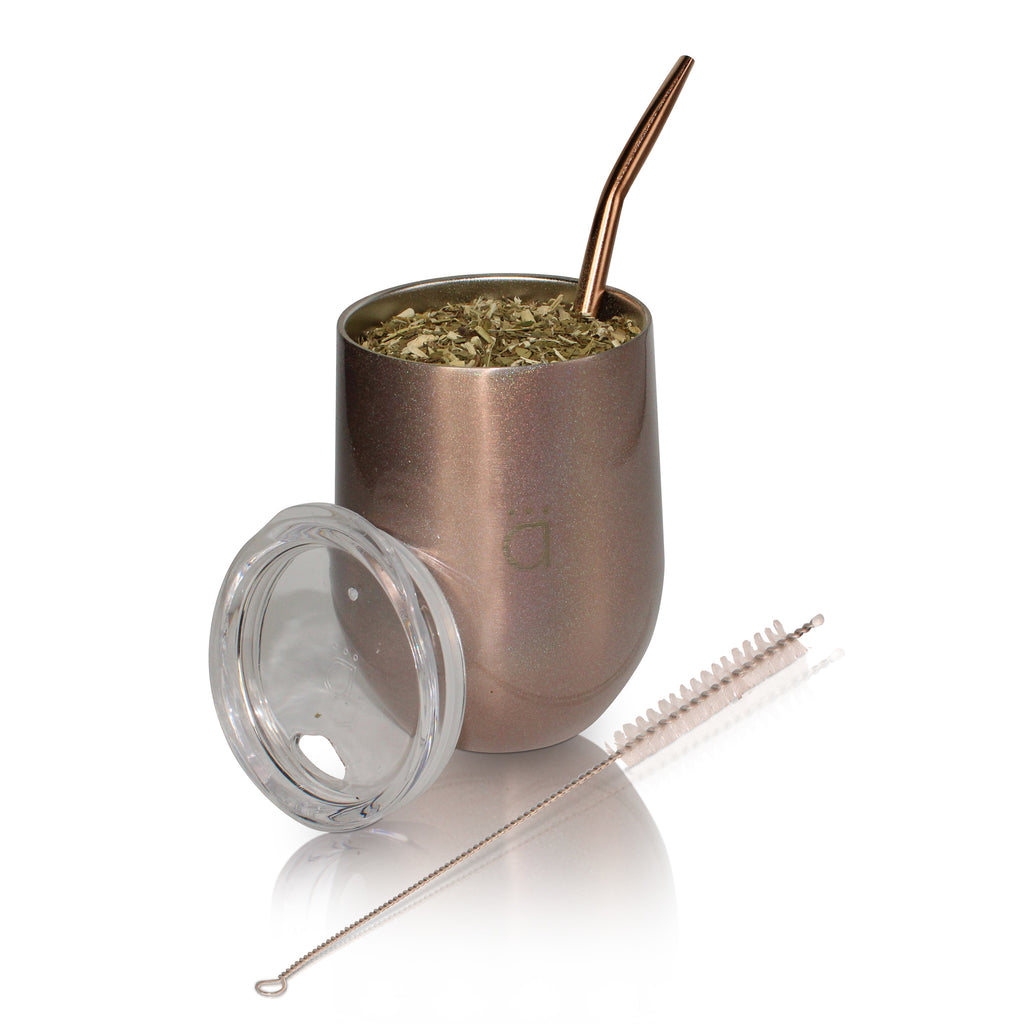 XL Mate Gourd with Stainless Steel Bombilla- 12 oz