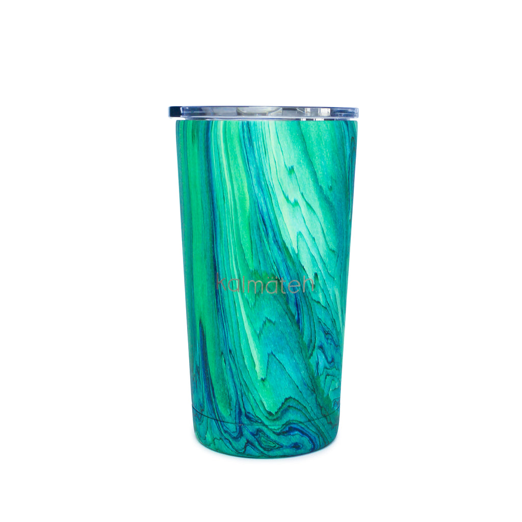 Turquoise Travel Tumbler (with 2 Straws)