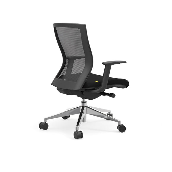 iDesk 404B Model Oroblanco Collection Mid Back Desk Chair