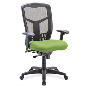 Coolmesh Synchro Green Seat Black Frame (New)