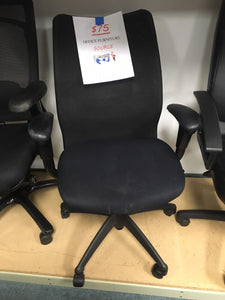 Haworth Improv SE task chair black