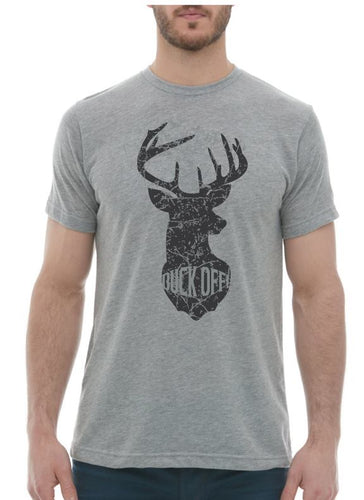 T-shirt printed Buck Off