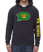 HEATHER BLACK KINGS HOODIE