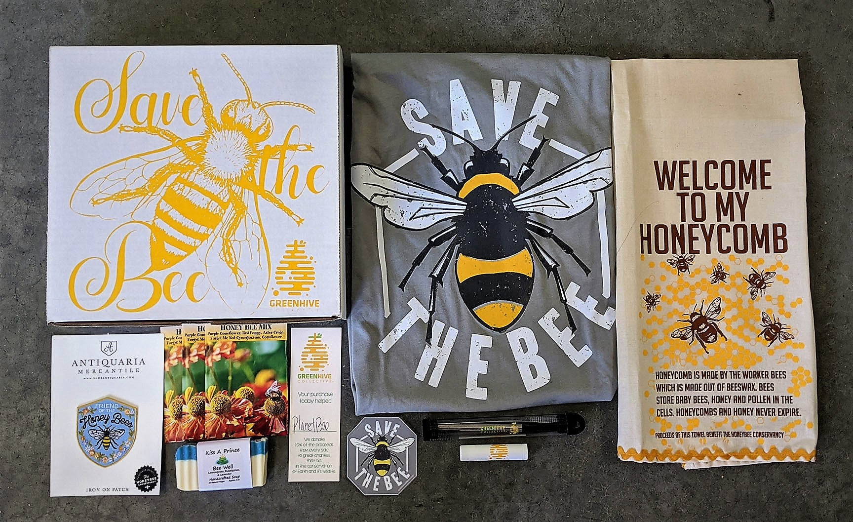 Save the bee Gift box set