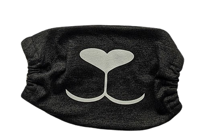 Repurposed Washable Face Mask (Black) - GreenHive Collective - ECO-FRIENDLY APPAREL