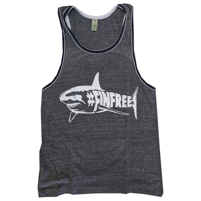 Fin Free Unisex Tank - GreenHive Collective - ECO-FRIENDLY APPAREL