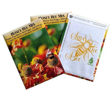 Honeybee Seed Mix - GreenHive Collective - ECO-FRIENDLY APPAREL
