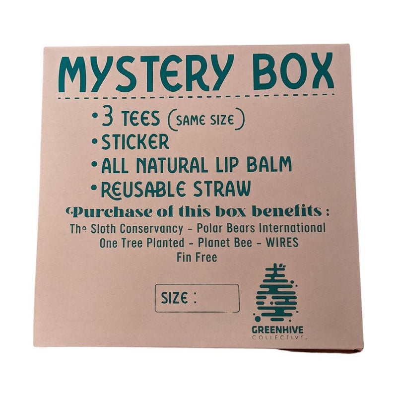 Greenhive Mystery Box - Eco-Friendly Gift Box (3 Tees)