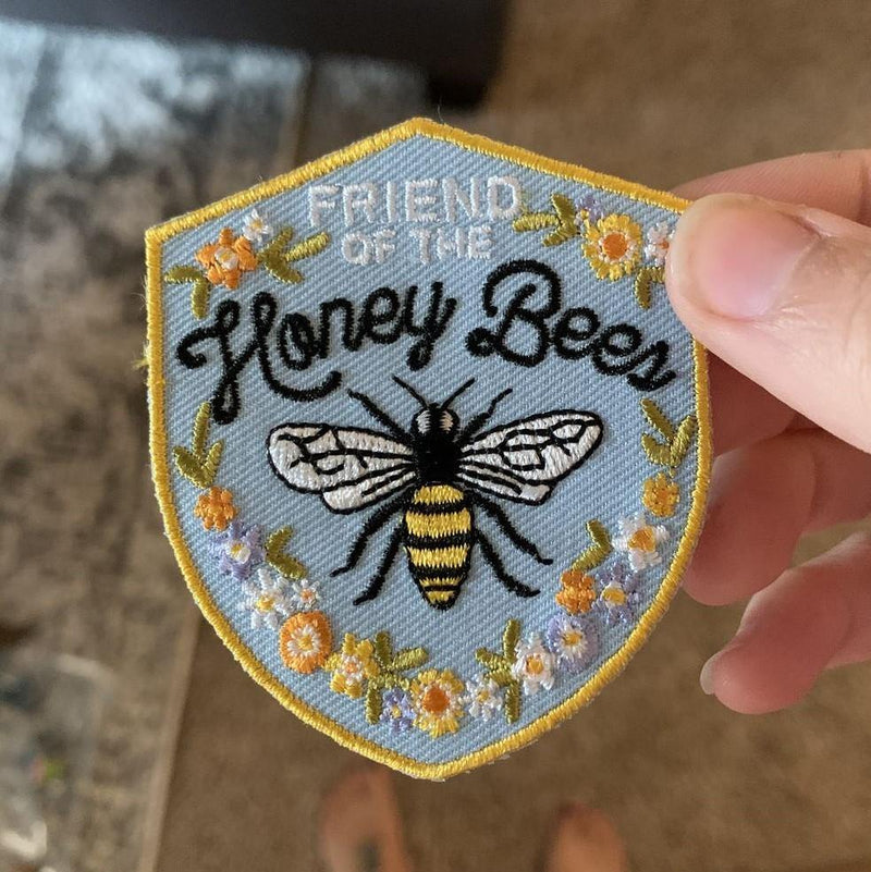 Friend of the Honeybee Patch - GreenHive Collective - ECO-FRIENDLY APPAREL