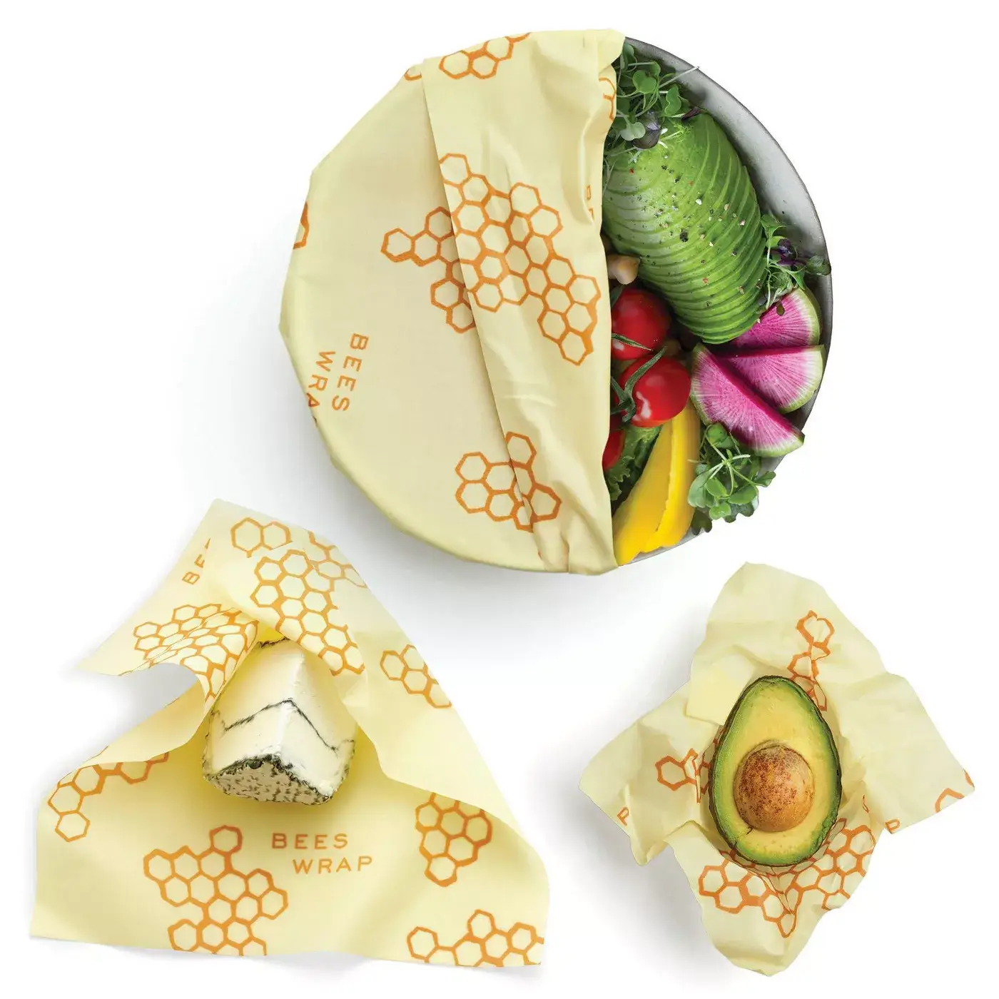 Bee's Wrap Sustainable Food Storage Wrap - GreenHive Collective