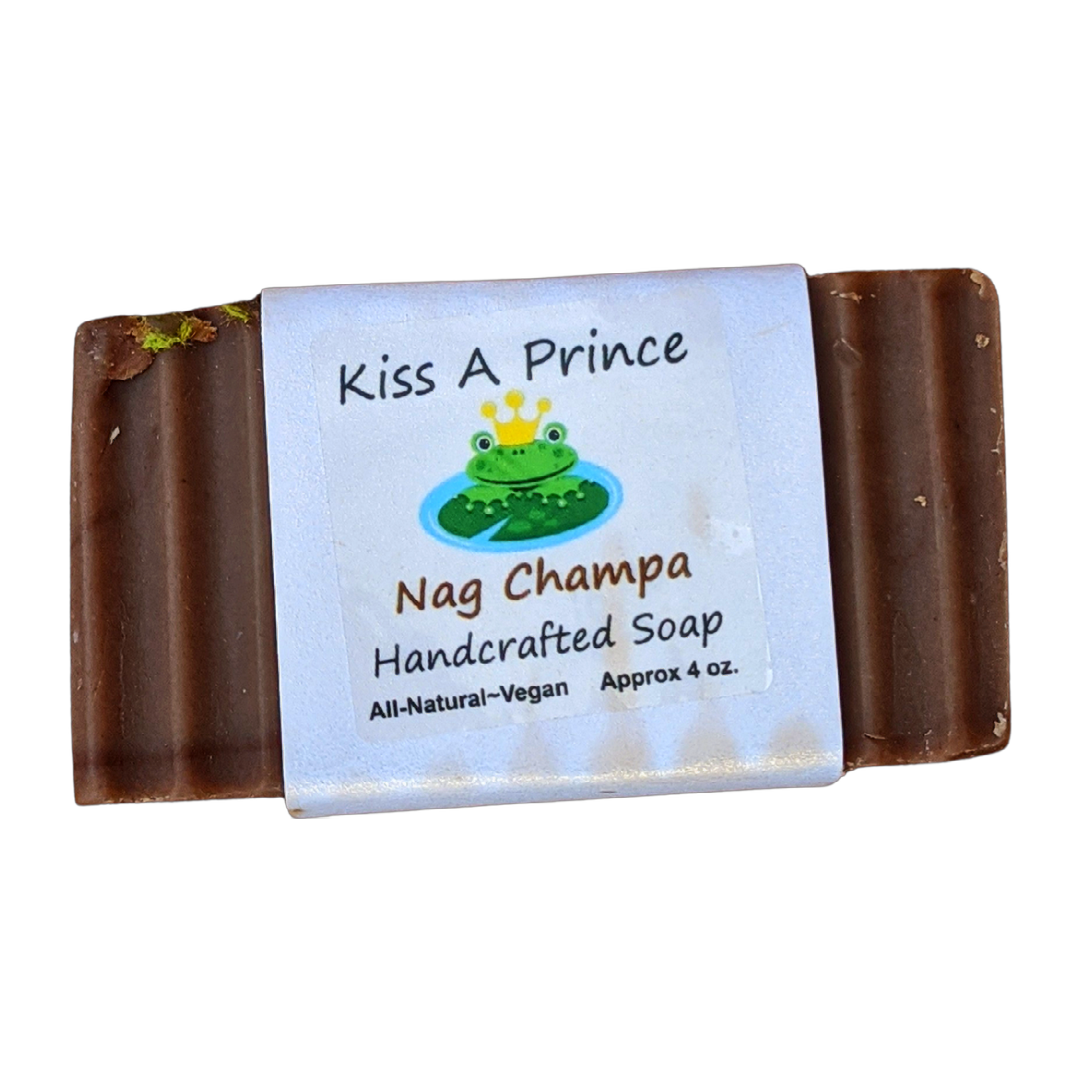 All Natural Vegan Nag Champa Bar Soap - GreenHive Collective