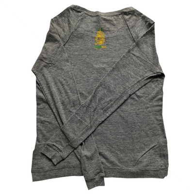 Save The Bee (Long Sleeve) - Limited Edition - GreenHive Collective - ECO-FRIENDLY APPAREL