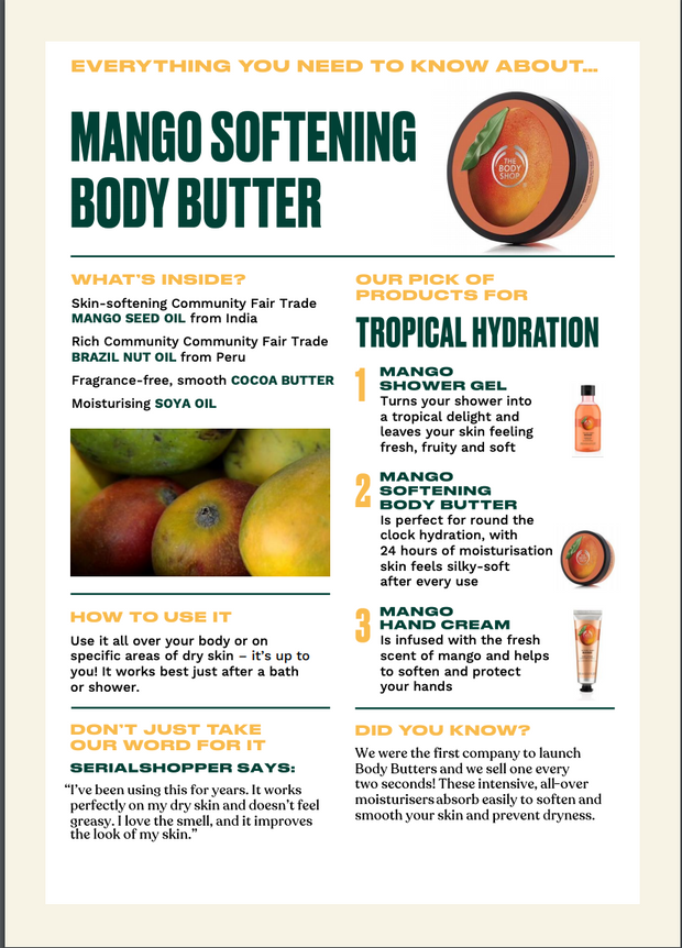 The Body Shop - Mango Softening Body Butter