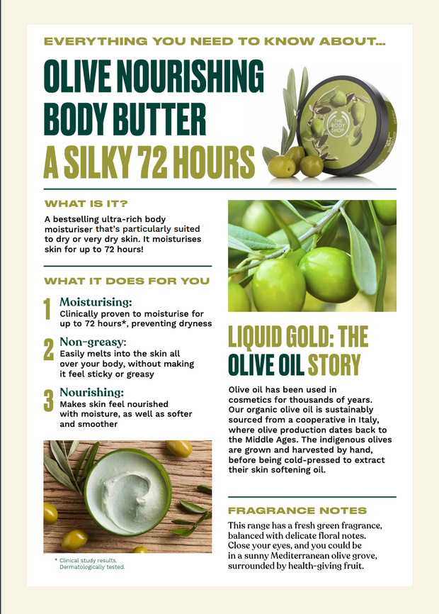 The Body Shop - Olive Nourishing Body Butter