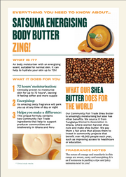 The Body Shop - Satsuma Energizing Body Butter