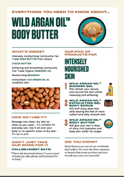 The Body Shop - Wild Argan Oil Nourishing Body Butter