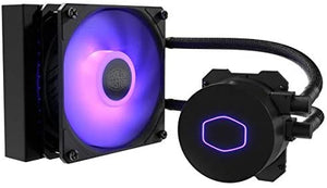 CoolerMaster MasterLiquid ML120L RGB V2 Close Loop AIO CPU Liquid Cooler 120 Radiator