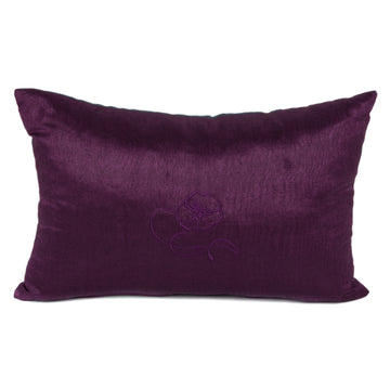 Purple Blue Kutnu Lumbar Pillow