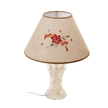 Red Flower Lamp Shade