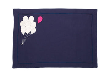 I Lost My Balloon Dark Navy Linen American Service