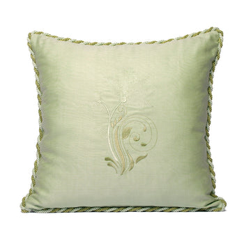 Pastel Water Green Kutnu Pillow