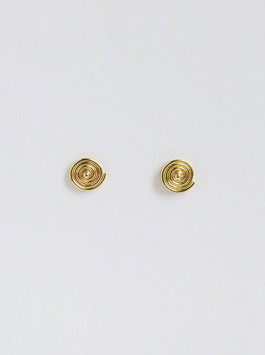 Spira Stud Earring-18k Yellow Gold