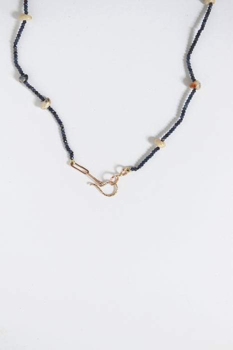 Sapphire Opal Necklace
