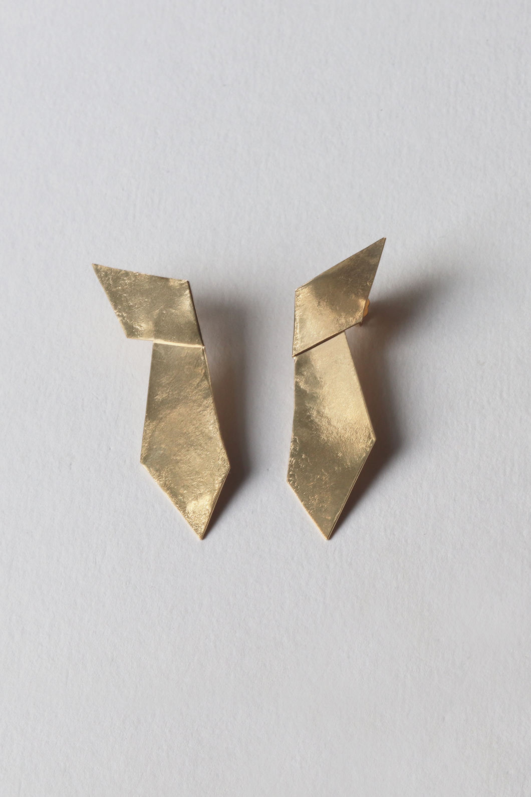 Short Origami Earring
