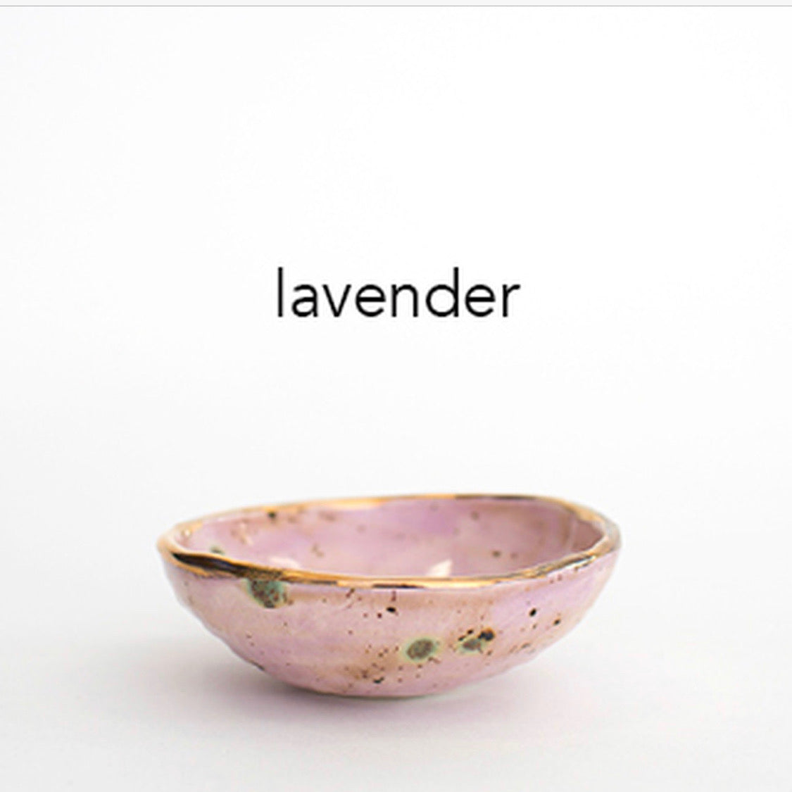 Lavender with Gold Lustre