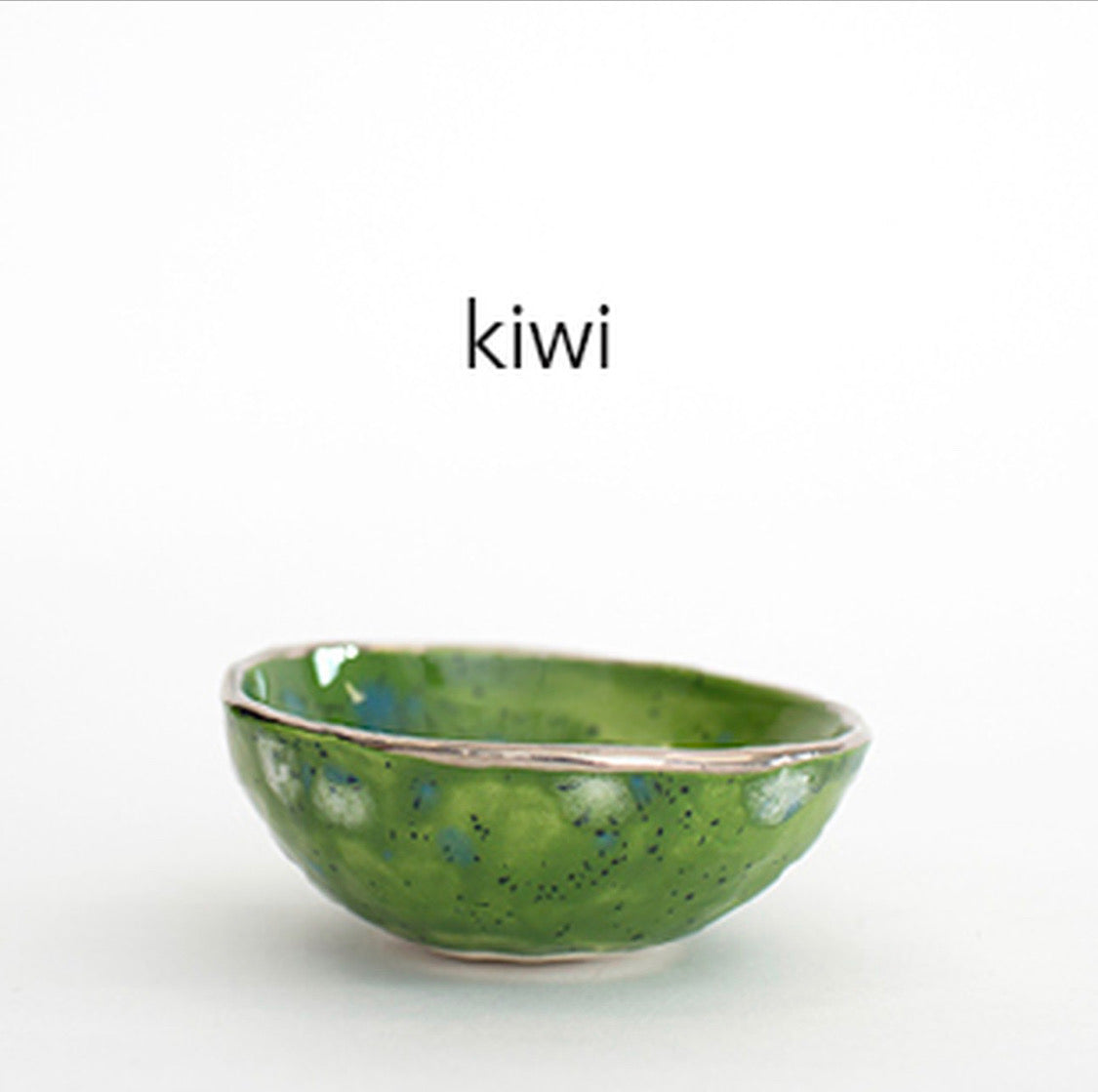 Kiwi with Gold Lustre