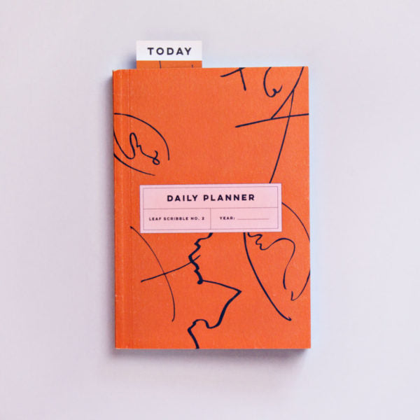 Leaf Scribble No.1 Daily Planner Book
