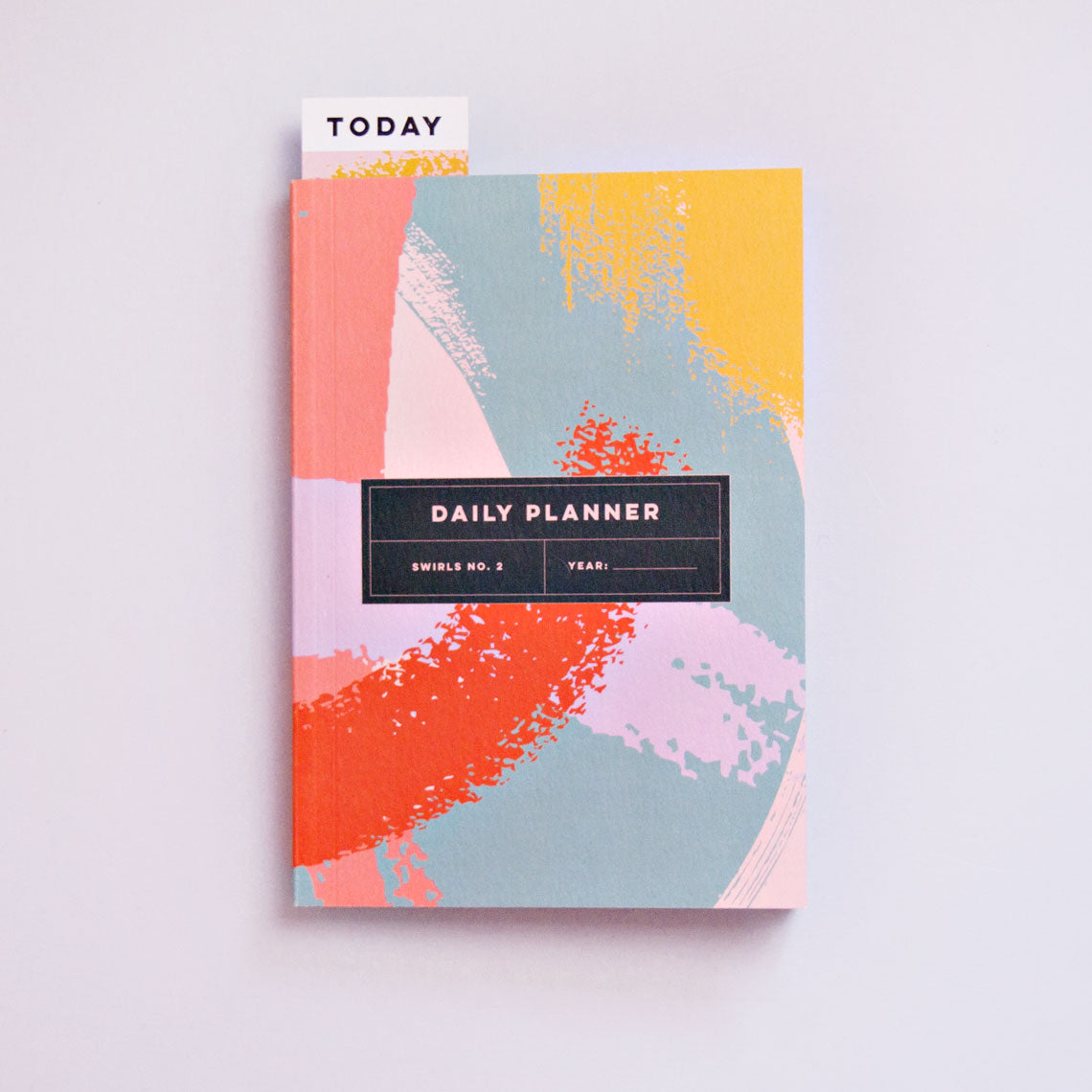 Swirls No.2 Daily Planner Book