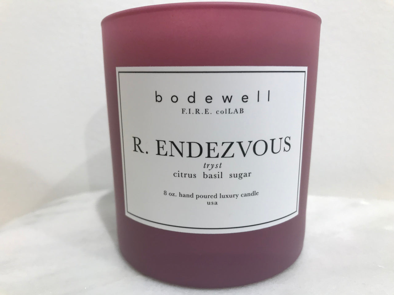FIRE Collection - R.ENDEZVOUS Candle