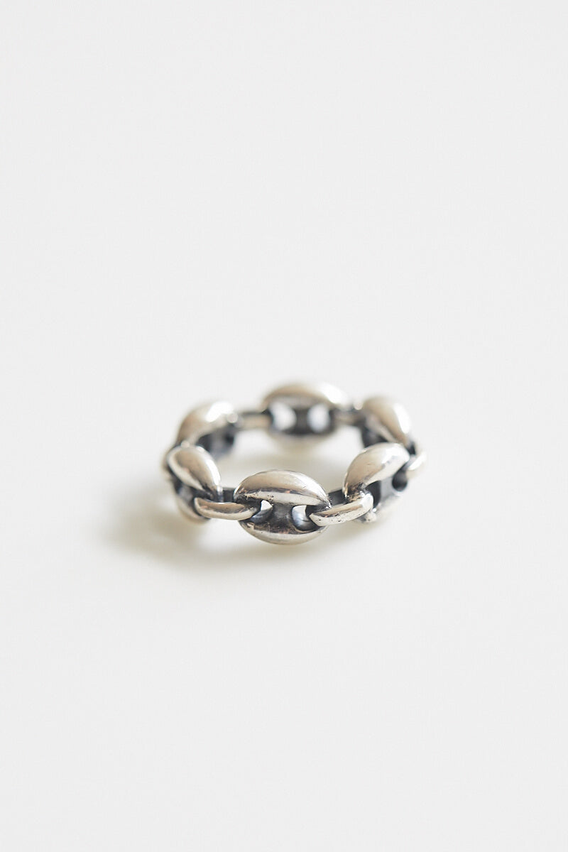 Cafe Silver Link Ring