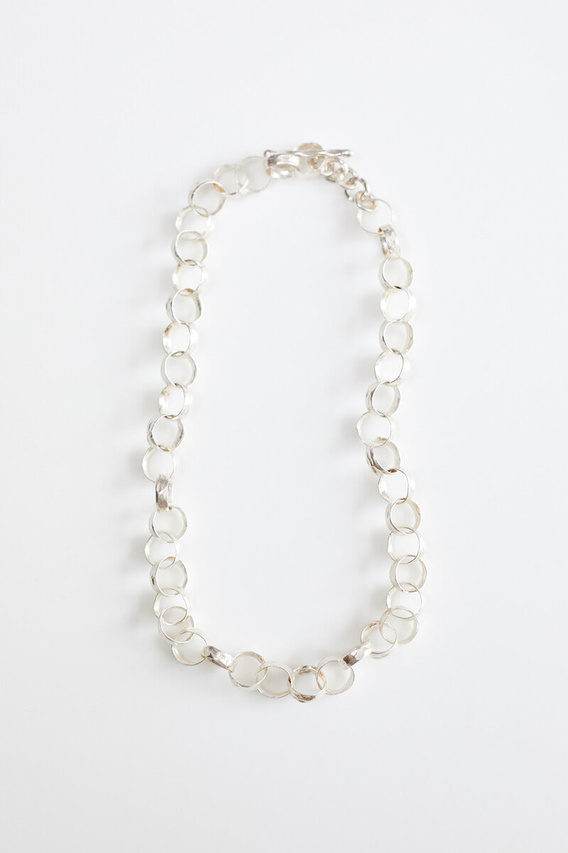 Addie Silver Link Necklace