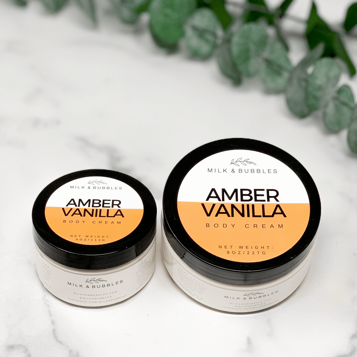 Amber Vanilla Body Cream