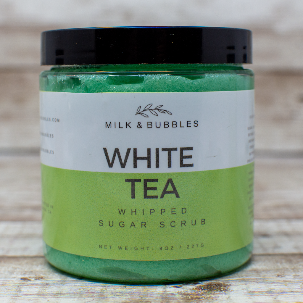 White Tea Sugar Scrub